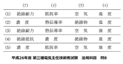 平成26年度 第三種電気主任技術者試験 法規科目 問8.png